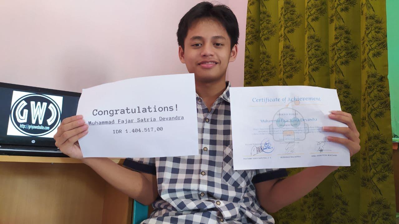 Prakerin Muhammad Fajar Satria Devandra SMK Telkom Malang