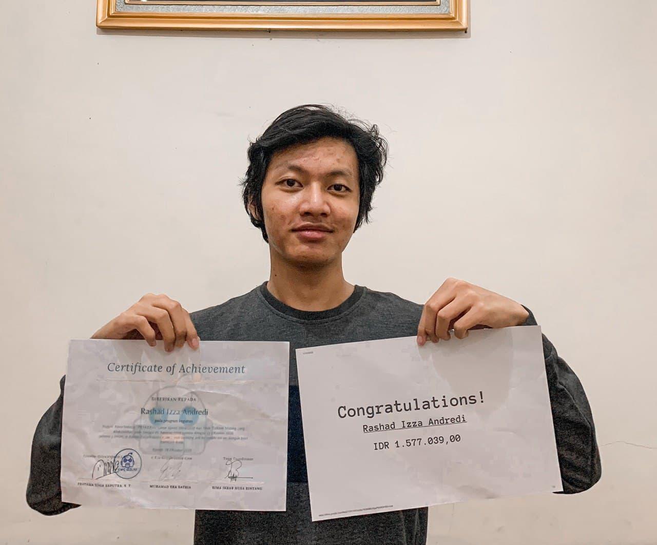 Prakerin Rashad Izza Andredi SMK Telkom Malang