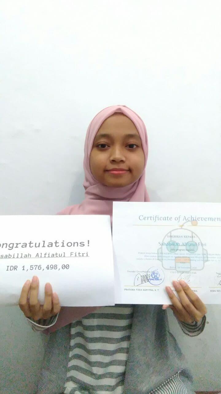 Prakerin Salsabilah Alfiatul Fitri SMK Telkom Malang