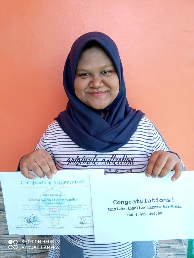 Prakerin Trixiana Angelica Herera Wardhani SMK Telkom Malang