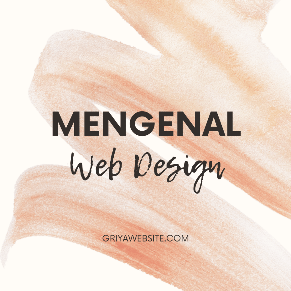 Mengenal Web Design