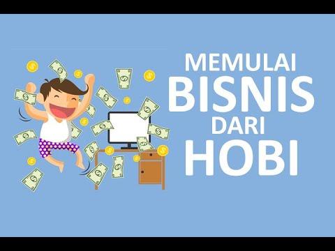 Memulai Bisnis Melalui Hobi