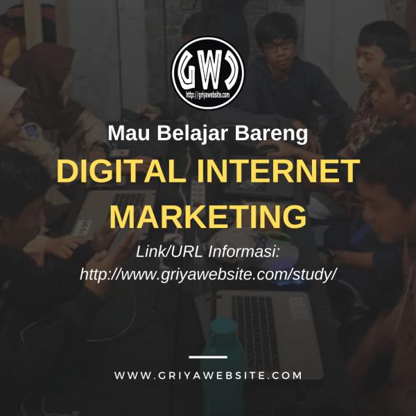 GWC - BELAJAR BARENG DIGITAL INTERNET MARKETING
